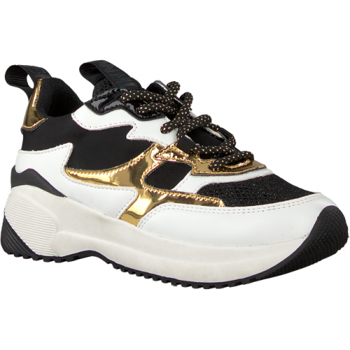 Replay JS240014S-Black White Sneakers