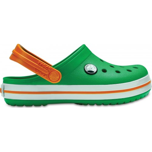 Crocs Crocband Kids Grass Blazing Orange 204537-3R4
