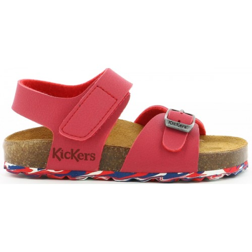 Kickers 858543-30-4 Red Sandals