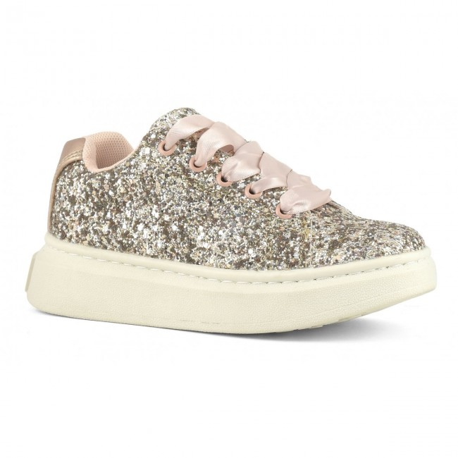 Colors Of California Sneaker with glitter upper HC.SUNH005K ΚΟΡΙΤΣΙΑ