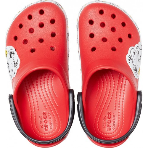 Crocs Fun Lab Snoopy Woodstock Flame 206176-8C1
