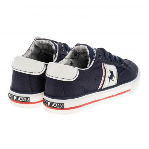 Sneakers LOIS πάνινα για αγόρι 60145-107 Marino