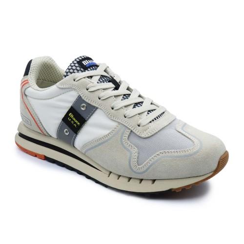 Blauer S1QUARTZ01-TEX Stone Sneakers
