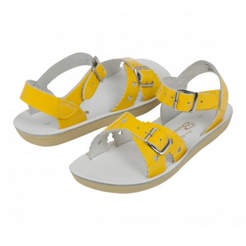 Salt-Walter Shiny Yellow Sandals 1401