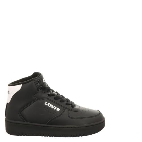 Levi's Παιδικό Sneaker New Union Mid VUNI0023S-0008 Black White