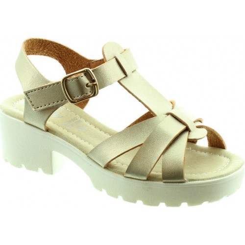 Lelli Kelly LK9481 Gold Sandals
