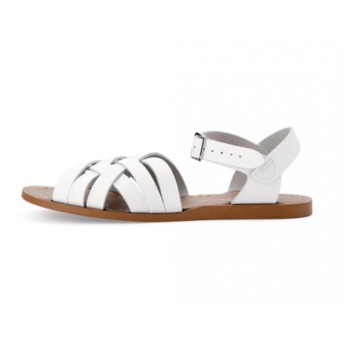 Salt-Walter Retro White Sandals 603