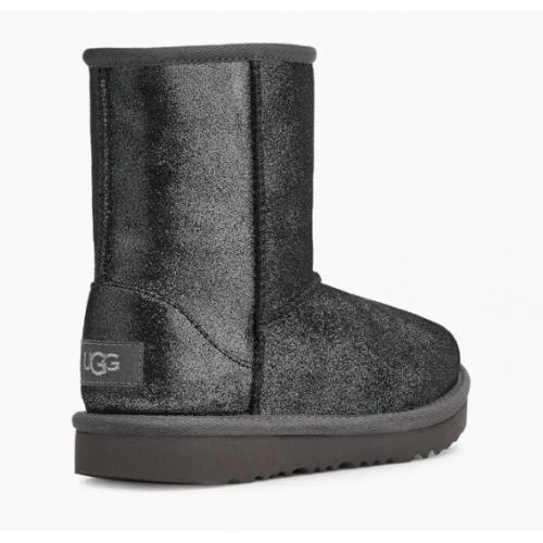 UGG Kids glitter shearling-lined boots 1123663T Black