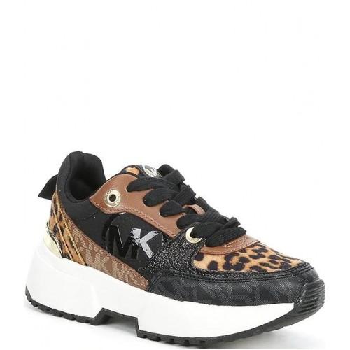 Michael Kors cosmo sport Sneakers Cheetah Print Lace-Up MK100065C
