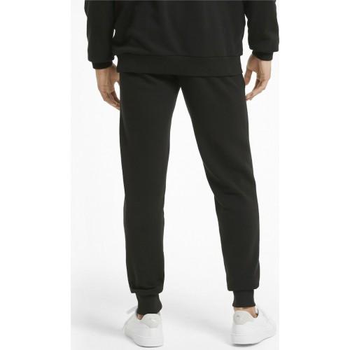 Puma Essential Παντελόνι Φόρμας με Λάστιχο Μαύρο 586749-01