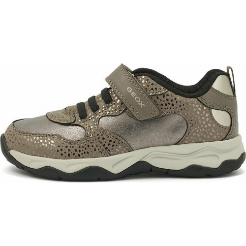 Geox Παιδικό Sneaker Calco για Αγόρι Καφέ J16CMA 0DHBC C1X2X