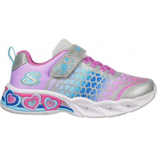 Skechers Παιδικό Sneaker Sweetheart με Φωτάκια για Κορίτσι Πολύχρωμο 302312N-SMLT