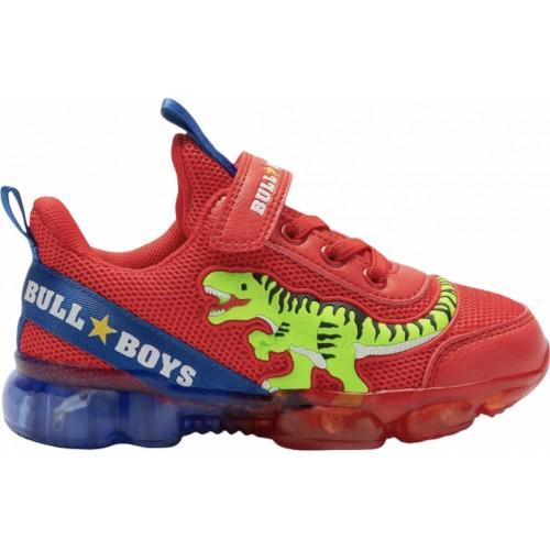 Sneaker Bull Boys Bull Boys Dinosauro Lights BB2130-AD01 Αγόρι