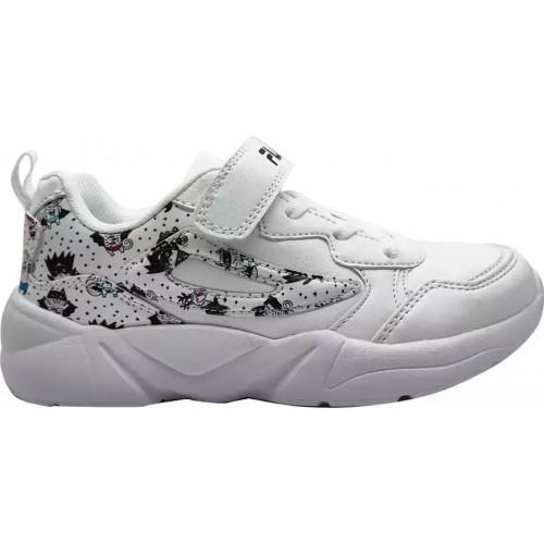 Fila Παιδικό Sneaker Μemory Print 3 Λευκό 3WT13012-110