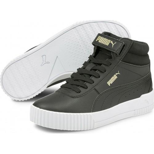 Puma Παιδικό Sneaker High Carina Μαύρο 374440-03