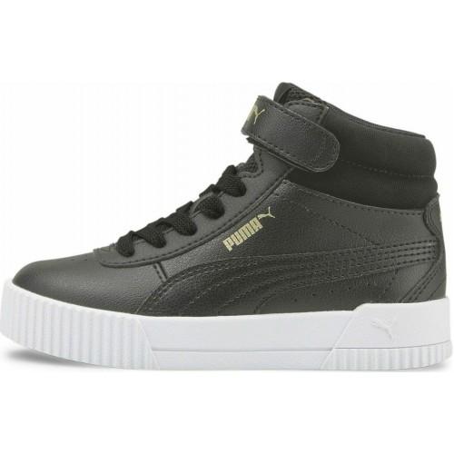 Puma Παιδικό Sneaker High Carina Μαύρο 374441-03