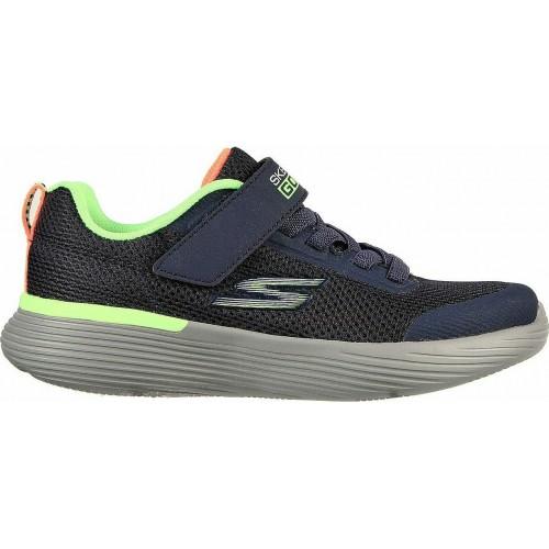 Skechers Αθλητικά Παιδικά Παπούτσια Running 400 Krozor για Αγόρι Μπλε 405101L-NVLM