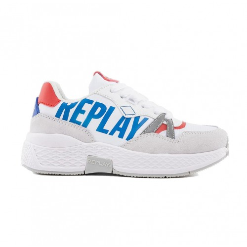 Replay WICK LACE UP SNEAKERS JS390001T-2946 White