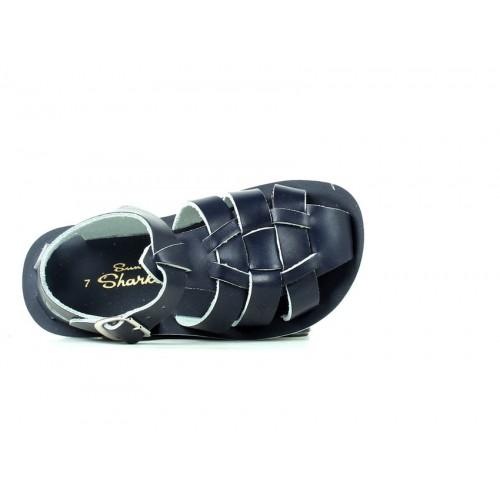 Salt-Walter Shark Navy Sandals 4407