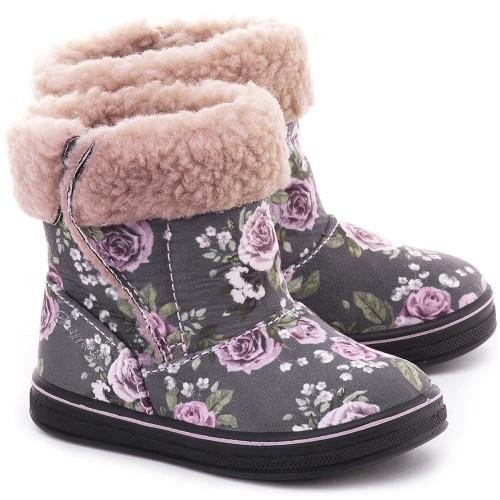 Primigi Girls 45571/00 Rose Grey Boots