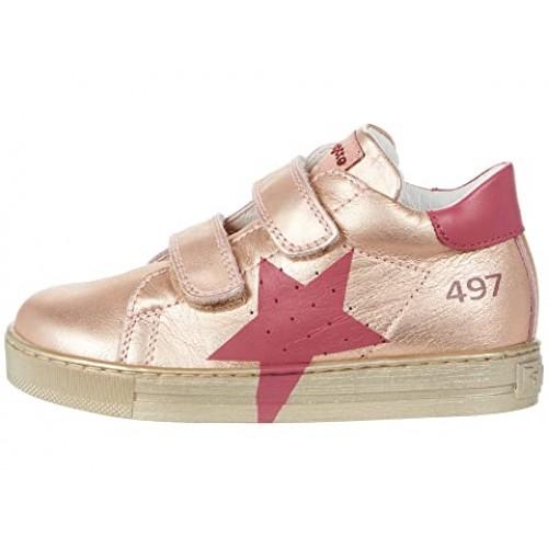 FALCOTTO SALAZAR - Sneaker με αστέρι print - Ροζ Μεταλλικό 2015331071Μ04