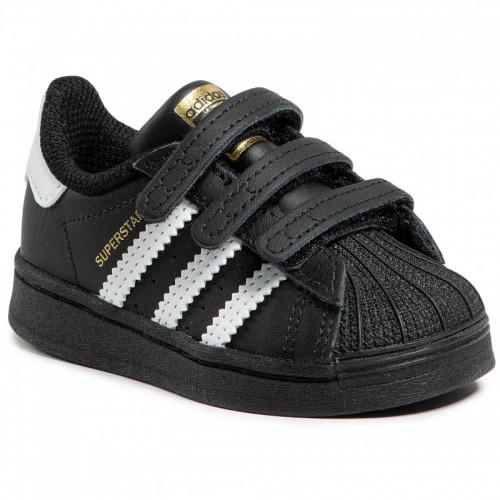 Adidas Παιδικό Sneaker Superstar με Σκρατς Μαύρο EF4843