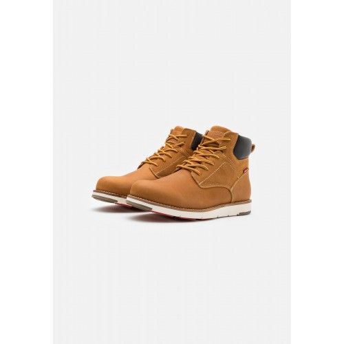 Levi's Παιδικό Μποτάκι JAX PLUS - Lace-up ankle boots VFOR0070S-0138 Camel