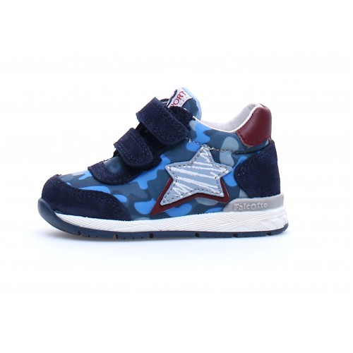 FALCOTTO NEW FERDI VL - Sneaker Μπλε Κόκκινο 2015873031C23