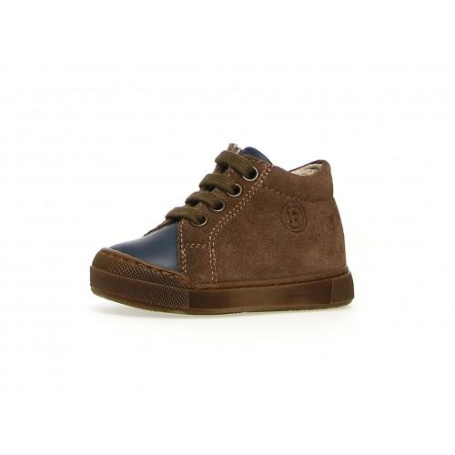 FALCOTTO SNOPES ZIP - Sneaker σε νάπα και καστόρι με ενισχυμένο δάχτυλο - Καφέ 2015329011C84