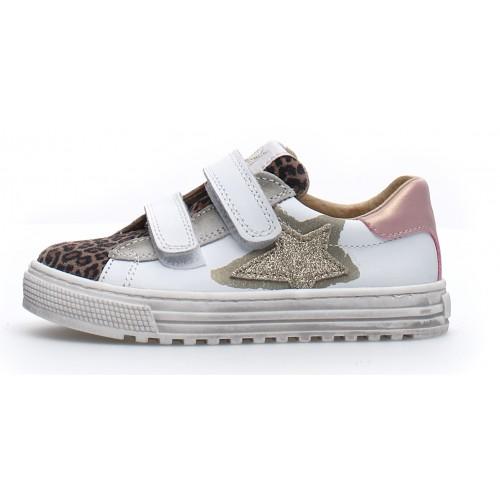 NATURINO KOKIE ZIP 2015894071E05 Sneaker Beige White