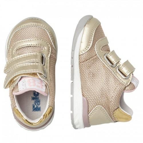 FALCOTTO NEW FERDI VL. - Sneaker από τεχνικό ύφασμα και μεταλλικό δέρμα - Platinum 2015873050Q06