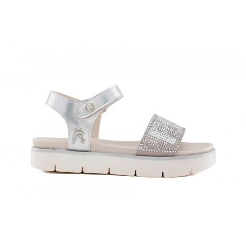 Replay JT240007S IZUMO 0052 Silver White Sandals