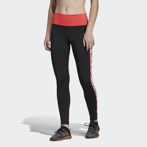 Adidas HIGH-RISE ITERATION LONG TIGHTS DQ3122 Black