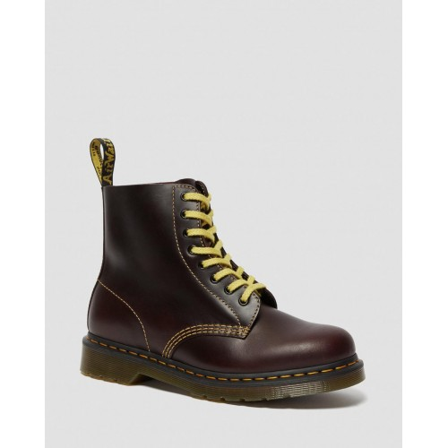 Dr.Martens  1460 PASCAL ATLAS LEATHER LACE UP BOOTS 26243601 OXBLOOD