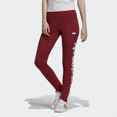 Adidas TIGHTS FH7557 Mystery Red-White