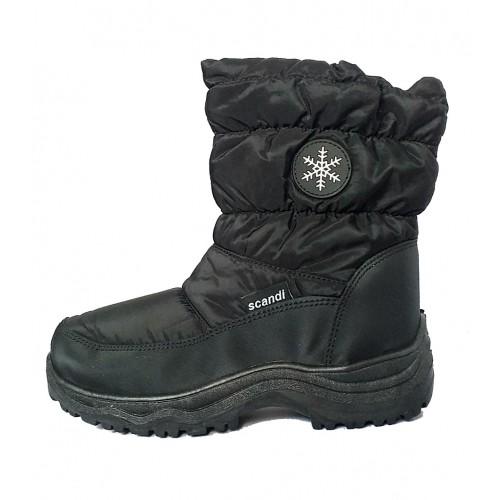 IQ Shoes Boots 163-0000-A1 Black